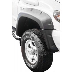 Расширители колёсных арок УАЗ Патриот (с накладками на оба бампера) дорестайлинг